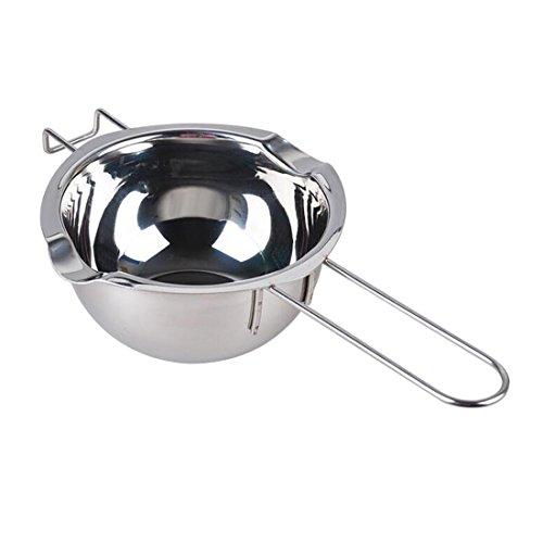 rongwen Universel Melting Pot Beurre de Chocolat Lait Melting Pot en Acier Inoxydable Gadget