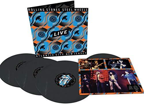 Steel Wheels Live (Atlantic City 1989, 3 LP + 12