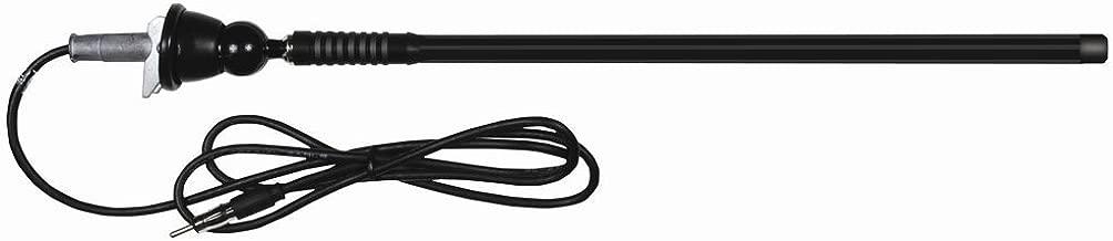 Dual MAR16B Marine Flexible Mast AM/FM Antenna (Black)