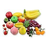 neustadt 食品 サンプル リアル 果物 15種類セット 子供 おままごと キット フルーツ くだもの 模型 ディスプレイ 食品サンプル k0111