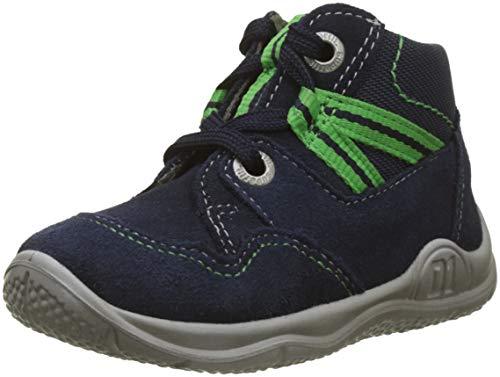 Superfit Baby Jungen Universe Lauflernschuhe Sneaker, Blau (Blau/GRÜN 80), 25 EU