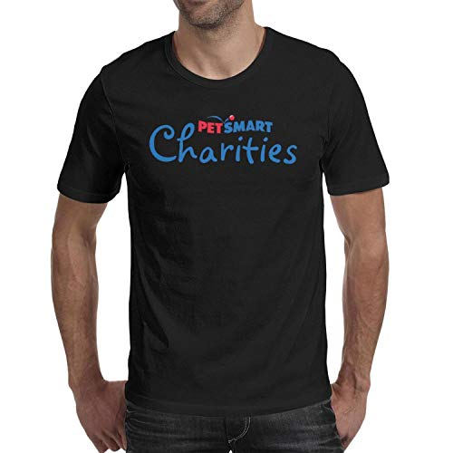 WJINX PetSmart Charities Mens Classic T-Shirt Crew Neck Tops Short Sleeve