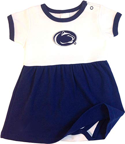 Future Tailgater Penn State Nittany Lions Baby Onesie Dress (3-6 Months)