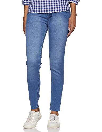 Distrito Urbano Women's Slim Fit Jeans (DUWDFPR152_Blue_32)