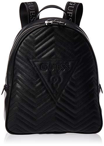 Guess Borsa zaino Zana large backpack ecopelle trapuntato nero donna BS20GU16
