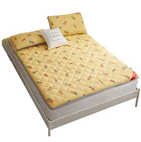 SADDPA Colchoneta, colchón de Tatami Confort Colchón portátil Colchoneta para Dormir en la Planta Baja Colchoneta Plegable Cama Perezosa para Dormitorio Dormitorio