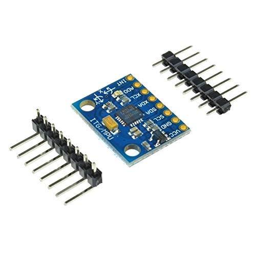ZTSHBK GY-521 GY521 GY 521 MPU-6050 MPU6050 MPU 6050 Sensormodul 3-Achsen-Beschleunigungsmesser für analoge Gyro-Sensoren für Arduino