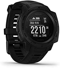 Garmin Instinct Tactical, Rugged GPS Watch, Tactical Specific Features, Constructed to U.S. Military Standard 810G for Thermal, Shock and Water Resistance, Black (Renewed)