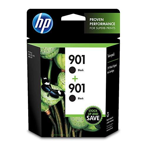 HP 901 | 2 cartucce d'inchiostro | nero | CC653AN