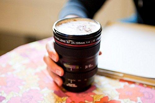 Tazza a forma di Obiettivo Fotografico Reflex. MEDIA WAVE store