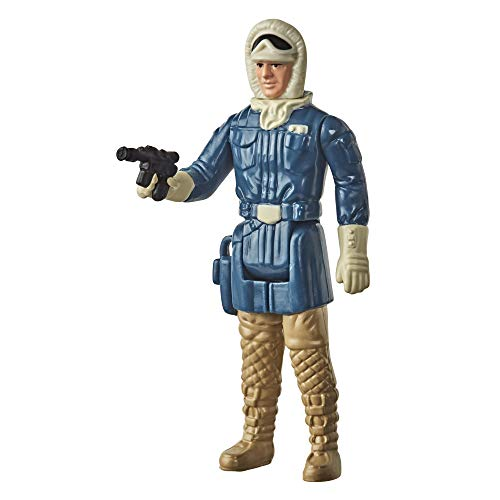 Star Wars Retro Collection Han Solo (Hoth) Toy 3.75-inch Scale Star Wars: The Empire Strikes Back Figure, Toys for Kids Ages 4 and Up