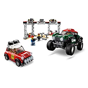 Amazon.co.jp - レゴ スピードチャンピオン 1967 ミニクーパー S ラリーと 2018 ミニ・ジョン・クーパー・ワークス・バギー 75894