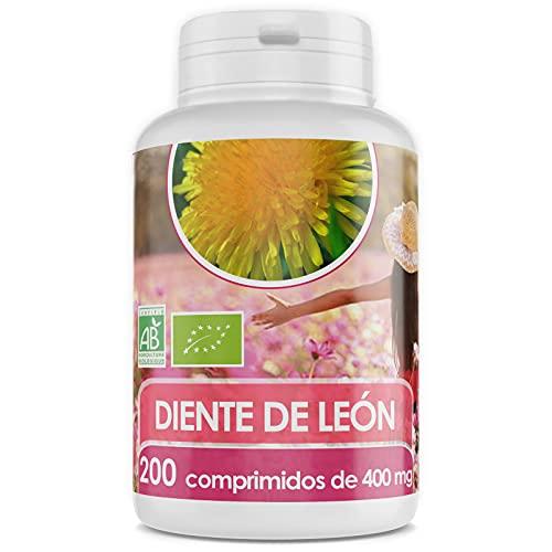 Diente de León Orgánico - 400 mg - 200 comprimidos