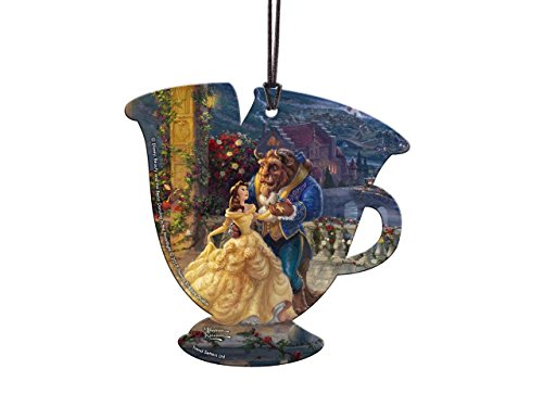 Trend Setters Disney - Beauty and The Beast - Dancing - Chip Teacup Shaped Hanging Acrylic