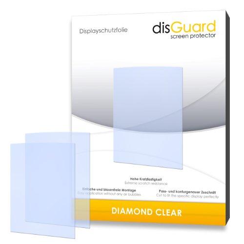 disGuard Displayschutzfolie für Philips GoGear SA3ARA08K02Ariaz 8GB–Made in Germany