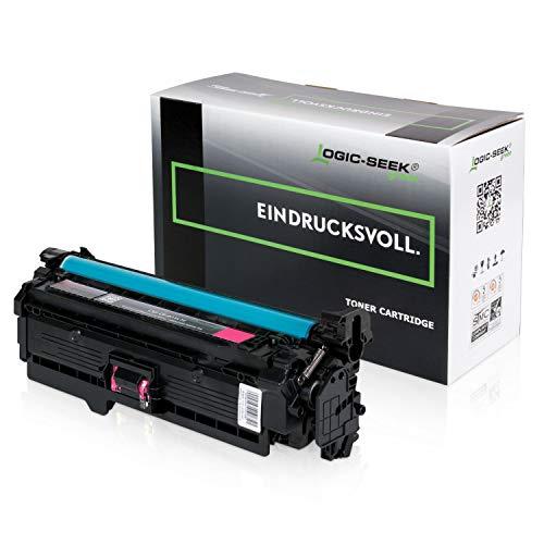 Original Logic-Seek Green Toner kompatibel zu HP CE403A Laserjet Enterprise 500 Color M551 M575 M577