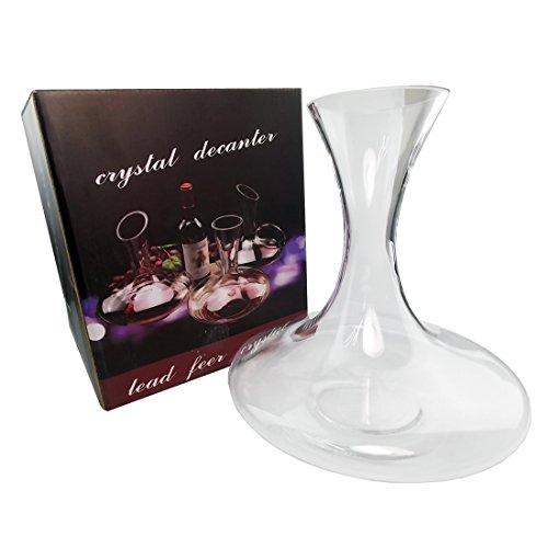 JJOnlineStore - glas wijn Decanter karaf kruik Flask Whisky Geesten rode wijn Open Top Ademende Tafel Verjaardag Kerstmis Kerstmis Cadeaudoos