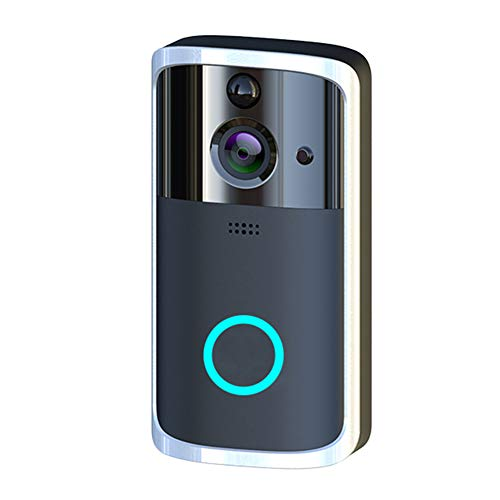 Harwls Wireless Smart WiFi Doorbell IR Video Visual Camera Intercom Protect Home Safe