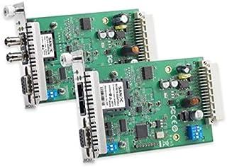 Moxa TCF-142-S-ST-RM convertidor, repetidor y aislador en Serie RS-232/422/485 Fibra (ST) - Repetidor de Red (0-60 °C, -20-75 °C, 5-95%, 86,8 x 136,5 x 21 mm, 12 V, 150 mA)