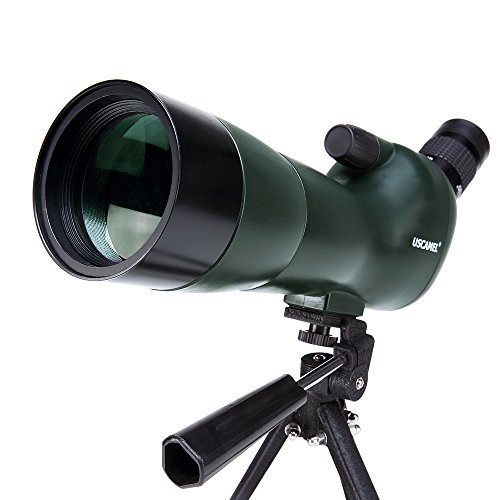 Uscamel Observación De Aves Impermeable Alcance De Detección-20-60x60 Zoom Monocular Telescopio-con Trípode-con Cámara Fotografía Ada