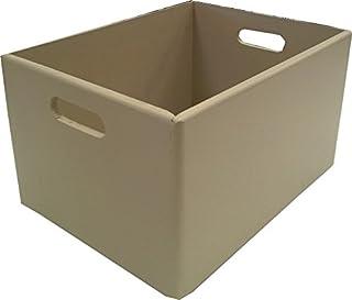 Compactor Wood Box Panier en Bois 400 x 300 x 240 cm en Bois Taupe