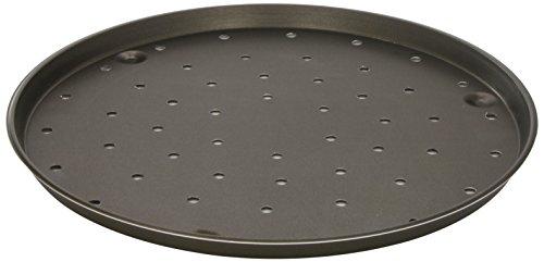 Lacor 67836, Molde Pizza Aluminio Antiadherente, Negro (Black), 36 Ø(cm) / 2'0 h(cm)