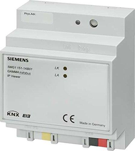 Ethernet, LAN, interfaz IP para domótica KNX 5WG1152-1AB01