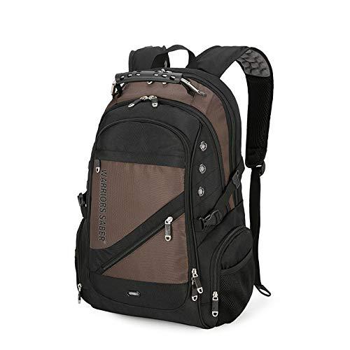 Xme Mochila de Viaje Multifuncional 36-55L, Mochila empresarial antirrobo USB, Bolsa para portátil de 17 Pulgadas