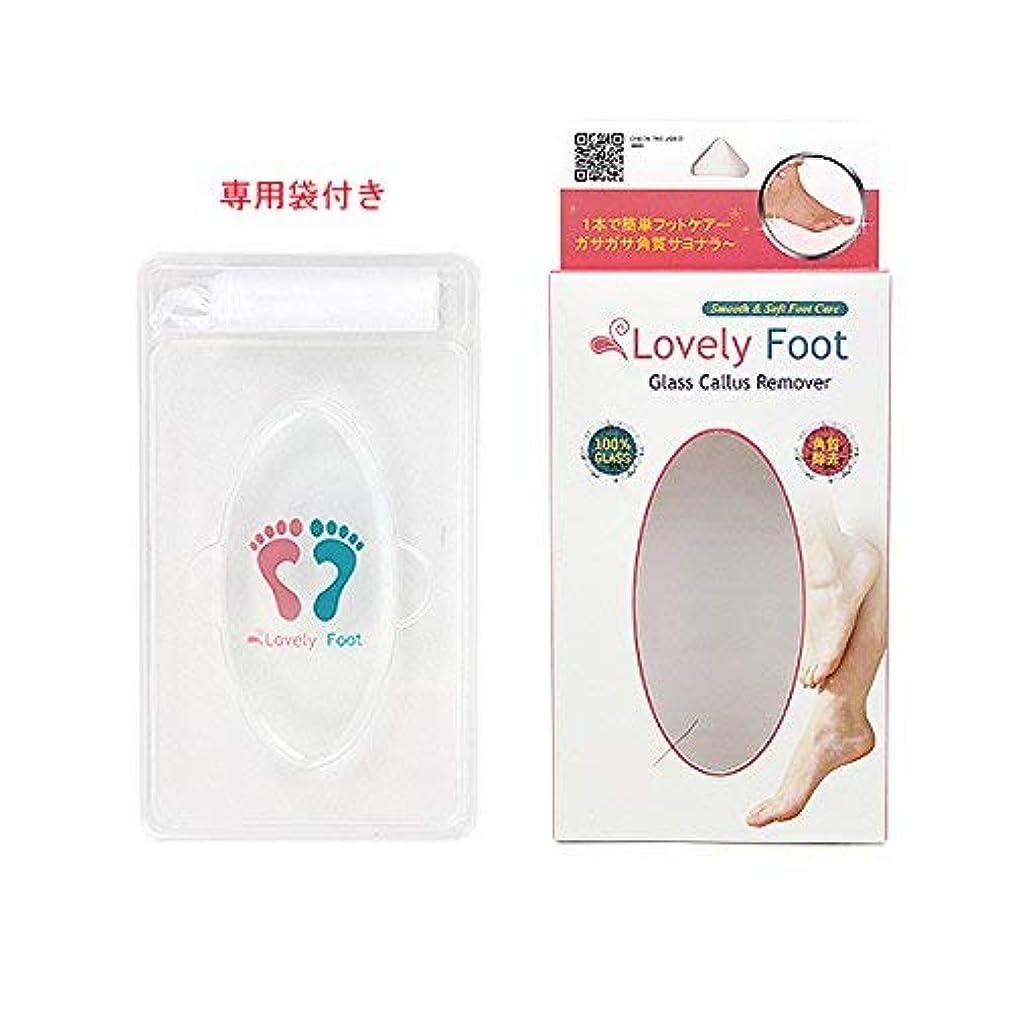 皮不利着るLovely Foot Glass Callus Remover (ガラス角質取り)