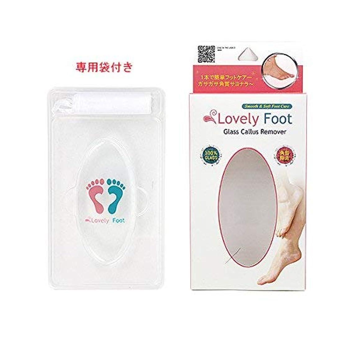 等価強盗関係ないLovely Foot Glass Callus Remover (ガラス角質取り)