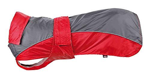 Trixie Lorient Raincoat, 70 cm, Red/Grey