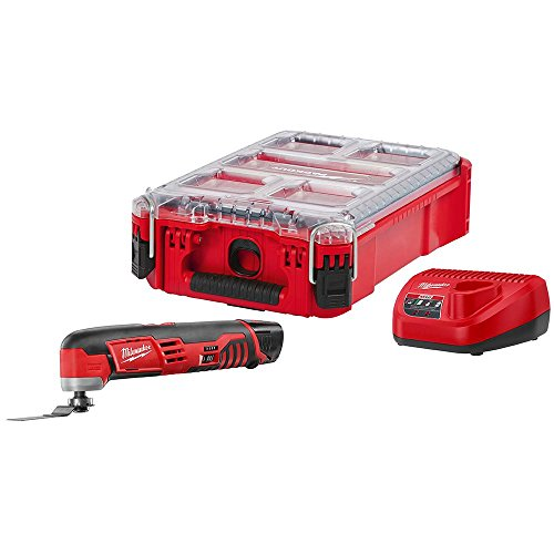 Fantastic Prices! Milwaukee M12 12-Volt Lithium-Ion Cordless Oscillating Multi-Tool Kit with (1) 1.5...