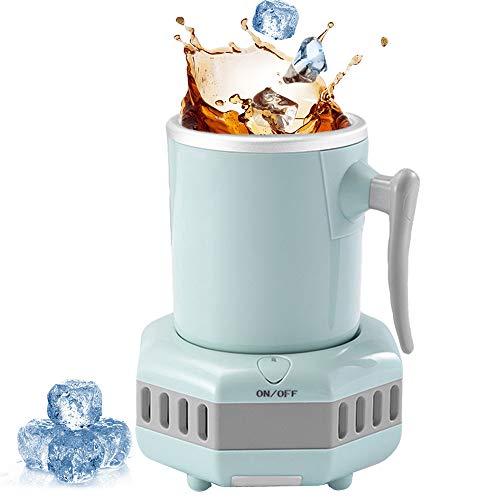 Fast Cooling Cup, Halter Home/Office Cup Kühler Desktop Refrigeration Cup Cooler Kühlung Dosenhalter Quick Cooling Silicone Coaster