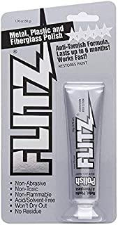 Flitz Multi-Purpose Polish and Cleaner Paste for Metal, Plastic, Fiberglass, Aluminum, Jewelry, Sterling Silver: Great for...