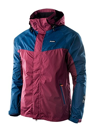 ELBRUS Veste Orest Light pour Homme XXL Tawny Port/Blue Wing Teal