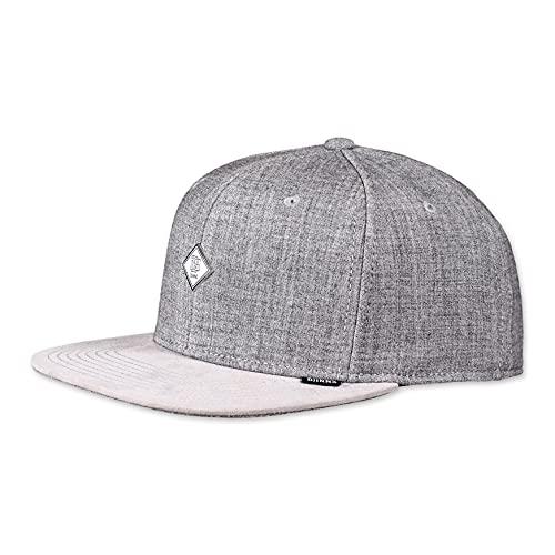 DJINNS - Wool Melange (grey) - Snapback Cap