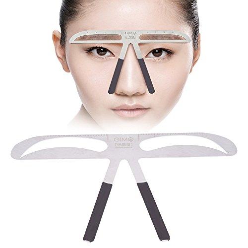 Augenbrauenlineal, Eyebrow Balance Divider Lineal Microblading Ratio Messwerkzeug für Augenbrauenmessung,Permanent Augenbraue Lineal Augenbraue Messen Balance Verlängerung Lineal Augenbraue Form
