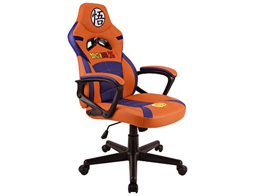 Subsonic DBZ Dragon Ball Z - Silla gaming junior - asiento gamer para escritorio - sillon de oficina