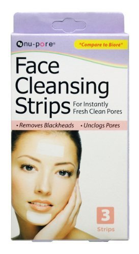 Nu-Pore Face Cleansing Strips, Bulk Case of 48 by nu-pore