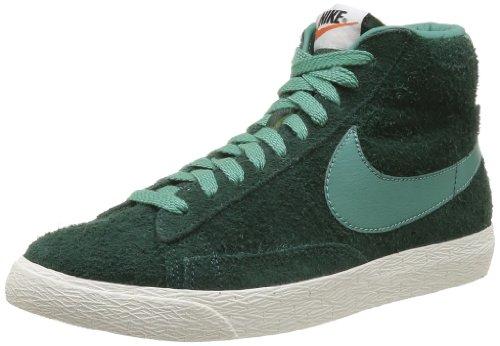 Nike Blazer MID PRM VNTG Suede, Herren Sneaker, Grün (PRo Green/Jade Glaze-JD GLZ-Sl), EU 44
