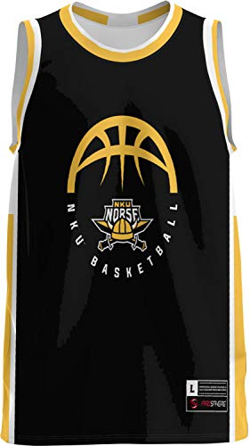 Northern Kentucky University Basketball Men's Basketball Jersey (Modern) F304AB1F Black and Gold