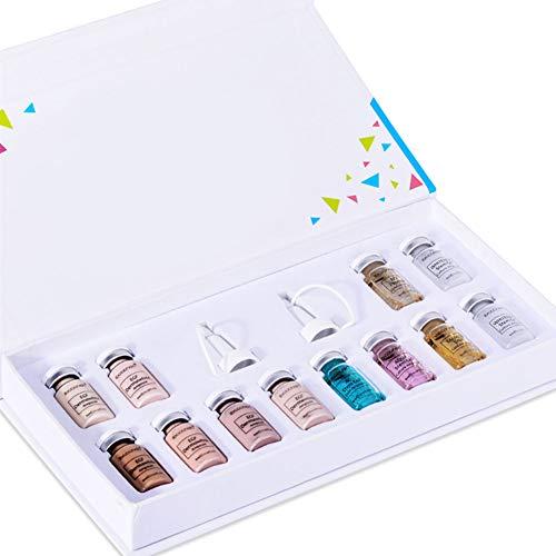 Productos De Belleza De La Base Líquida Glow Bb Crema Behandling Starter Kit Blanquear Anti-arrugas Anti-acné-fundación Con La Esencia De La Cara Para La Piel Style3