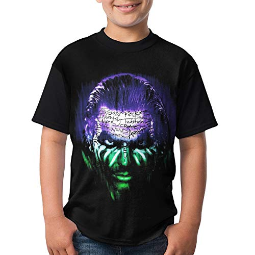 Jeffrey Nero Hardy Shirt Soft Polyester Short Sleeves T Shirt for Youth Kids(S)