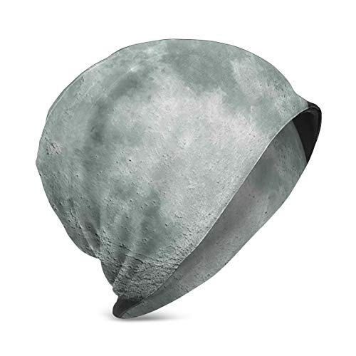 Kids Soft Slouchy Beanie Baggy Skull Hat,Moon Graphic Image Trippy Rock...