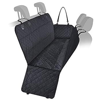 LOMOS Couverture de Banquette arrière de Voiture pour Chien Solide et imperméable avec Protection latérale
