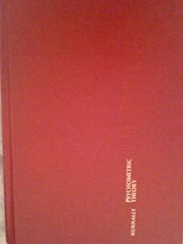 Hardcover Psychometric Theory (McGraw-Hill series in psychology) Book