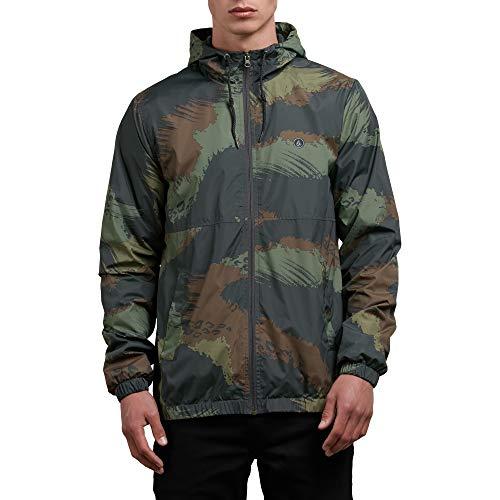 Volcom Herren Ermont Hooded Windbreaker Jacket Baumwolle, leicht, Jacke, Multi, X-Large