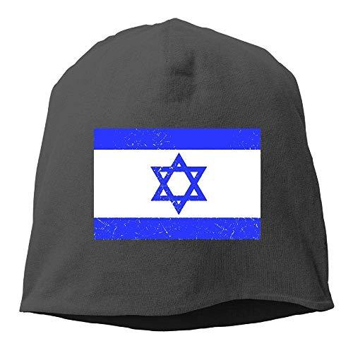 NA Mütze mit Totenkopf-Mütze, Vintage-Stil, Retro-Stil, israelische Flagge, Wintermütze