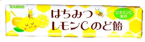 カンロ はちみつレモンCのど飴 11粒×10本