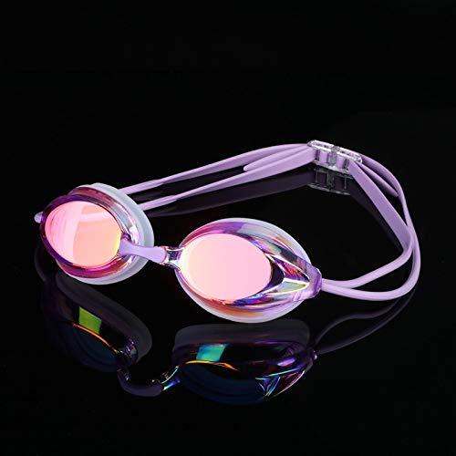 jsauwi Zwembril Zwembril Volwassen Zwemuitrusting Professionele zwembril plating hard waterdicht